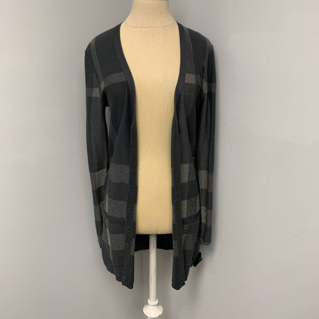 Burberry Plaid Cardigan