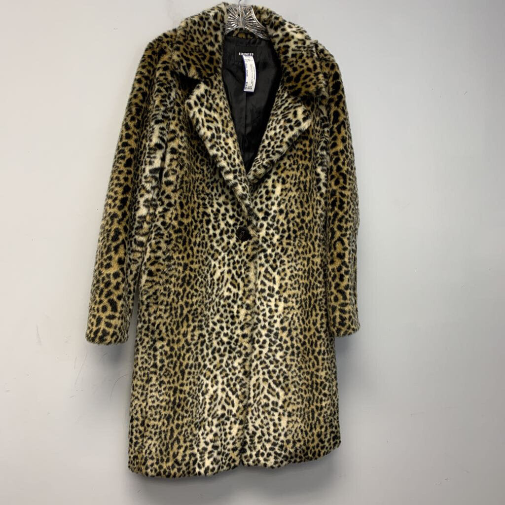 Express Faux Fur Coat