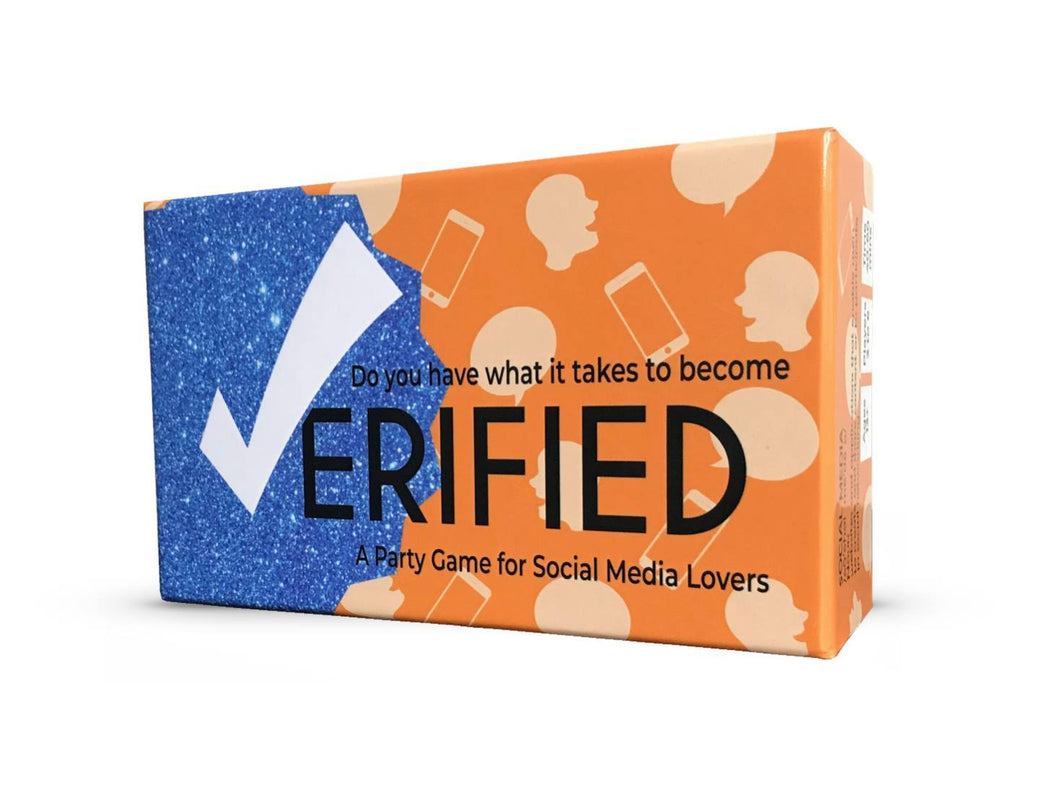 'Verified' A Party Game for Social Media Lovers (Original Edition)