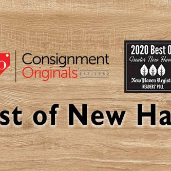 Voted Best Consignment Shop by New Haven Register