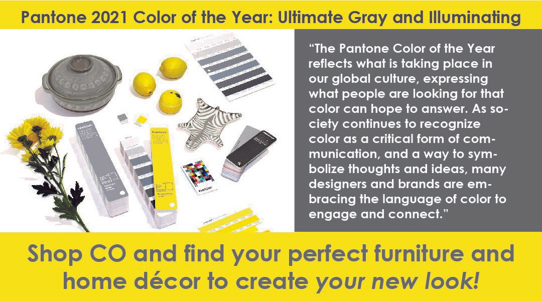 2021 Color of the Year: Ultimate Gray and Illuminating