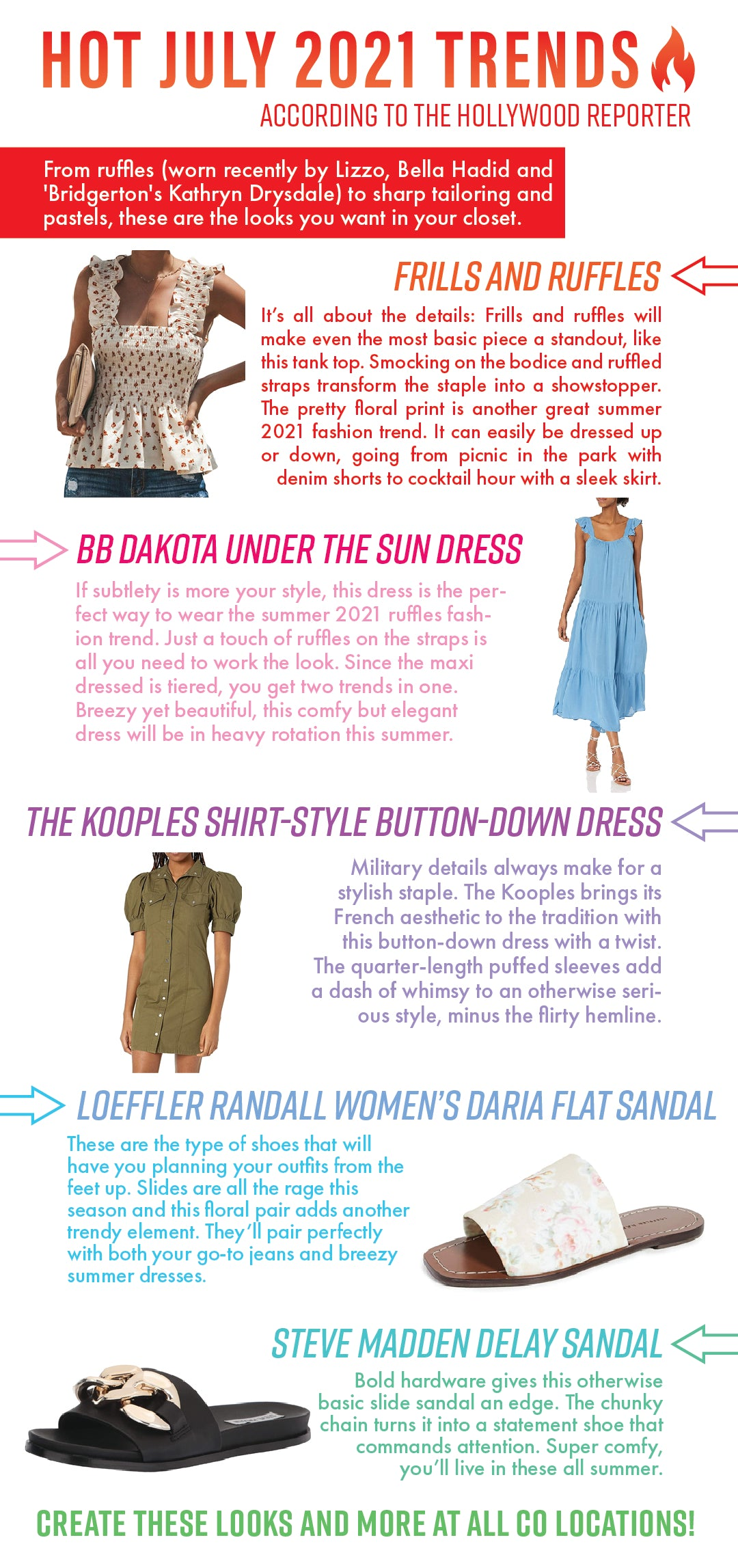Hot July 2021 Fashion Trends