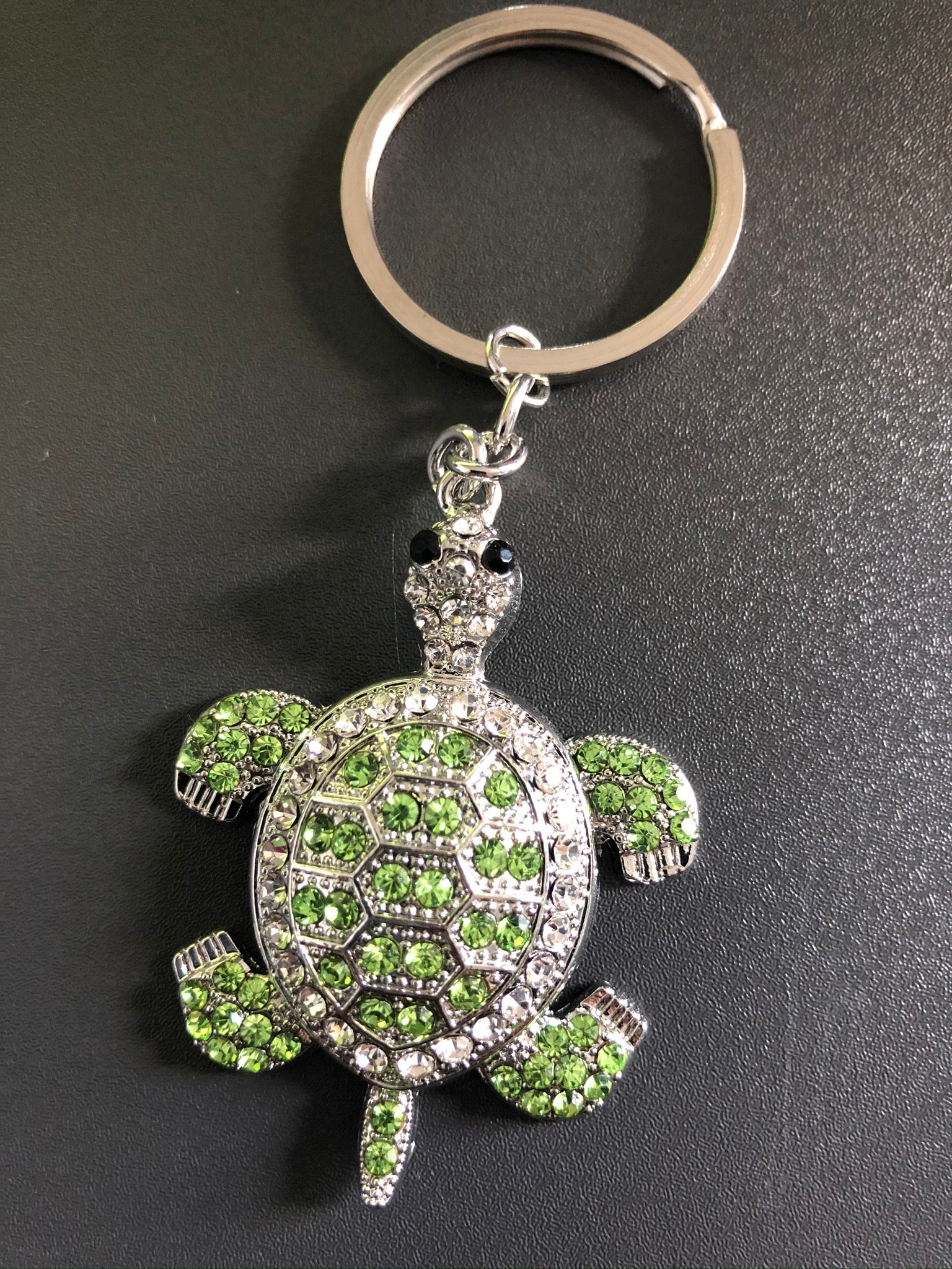 Turtle Bling Keychain
