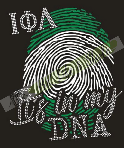 Iota Phi Lambda DNA Bling T-Shirt