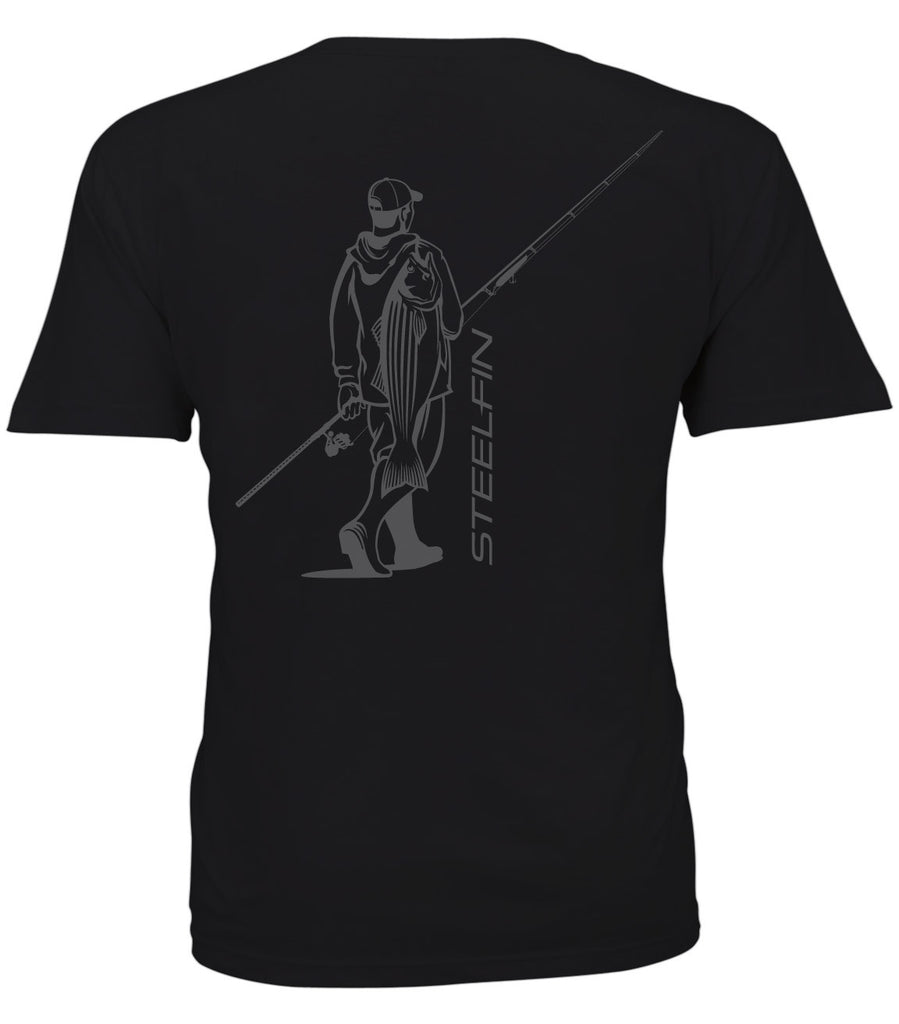 Cow Hunter Short Sleeve Tee – New Moon Black