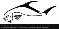 Steelfin Permit Decal - Black