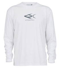 Steelfin Logo Performance Shirt - White