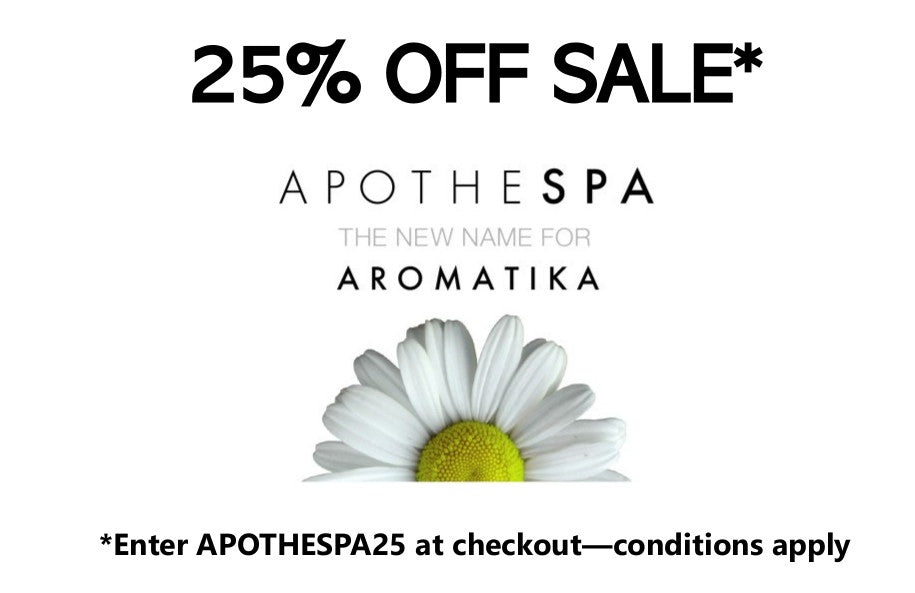25% Off* New Apothespa Website Opening Sale