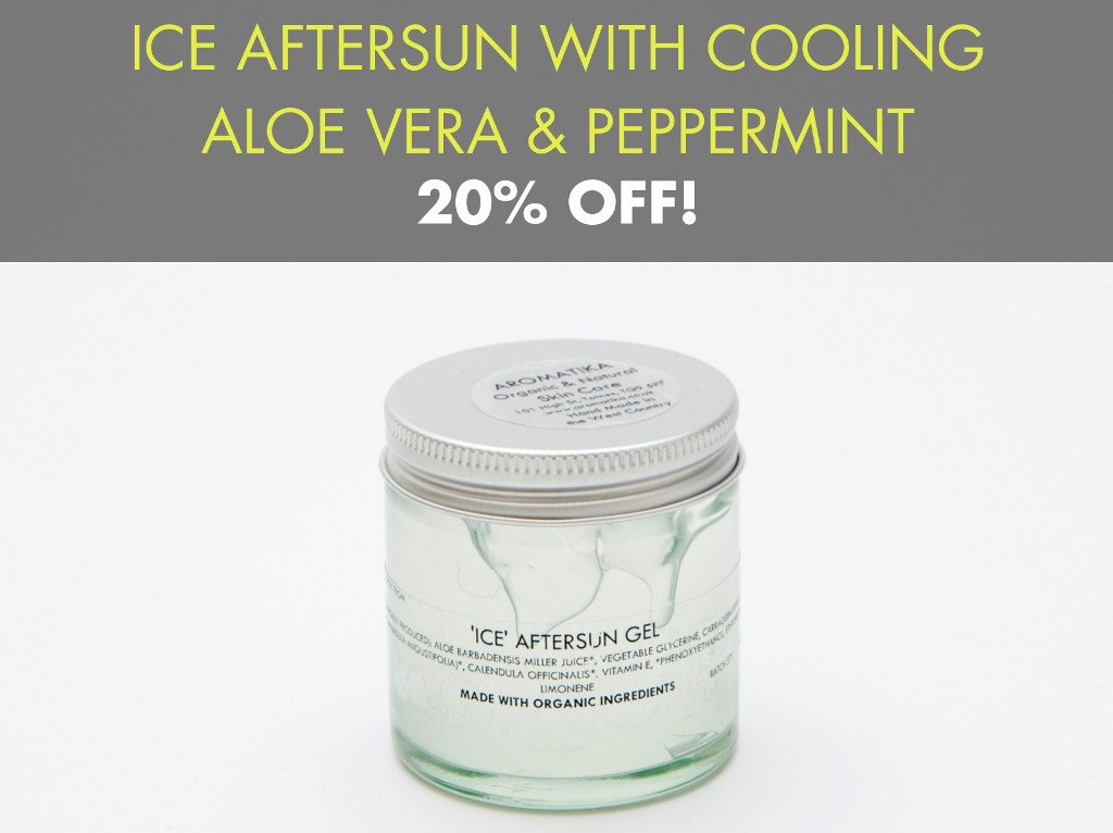 Special Offer : 20% Off Ice After Sun