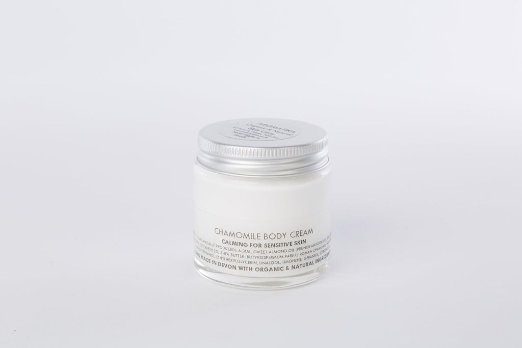 Chamomile Body Cream : Great for sensitive skin and during pregnancy
