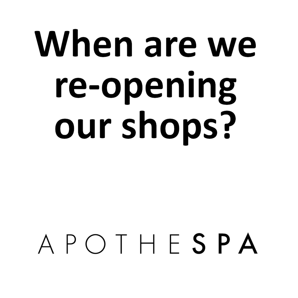 Apothespa Re-Opening Update