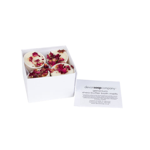 Geranium & Rose Petal - Bath Melts