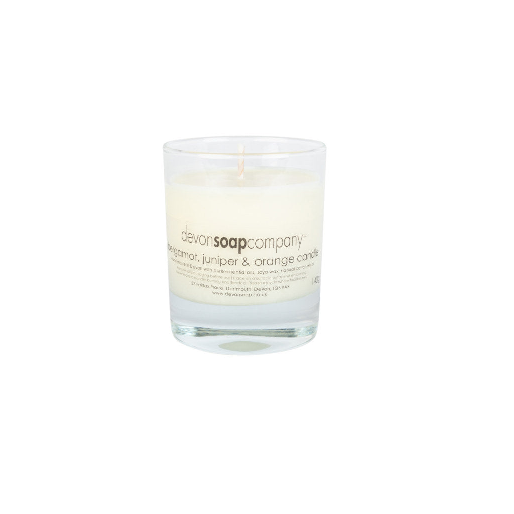 Candles - Bergamot, Juniper & Orange Medium Candle