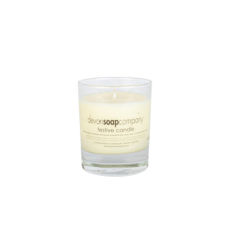 Festive Small Candle (Orange, Clove & Cinnamon)