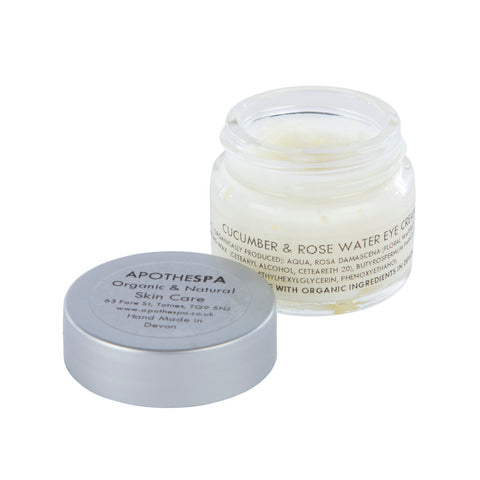 Cucumber & Rose Water Eye Cream