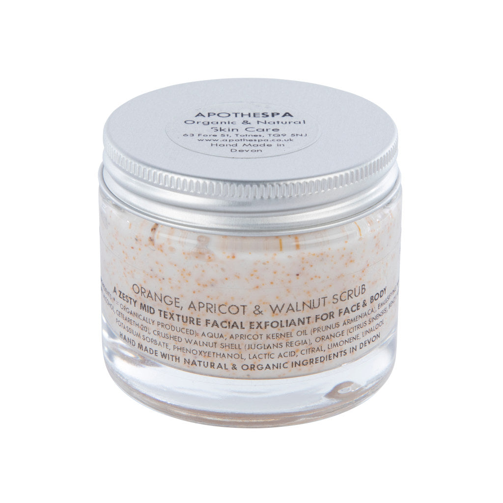 Orange, Apricot & Walnut Scrub