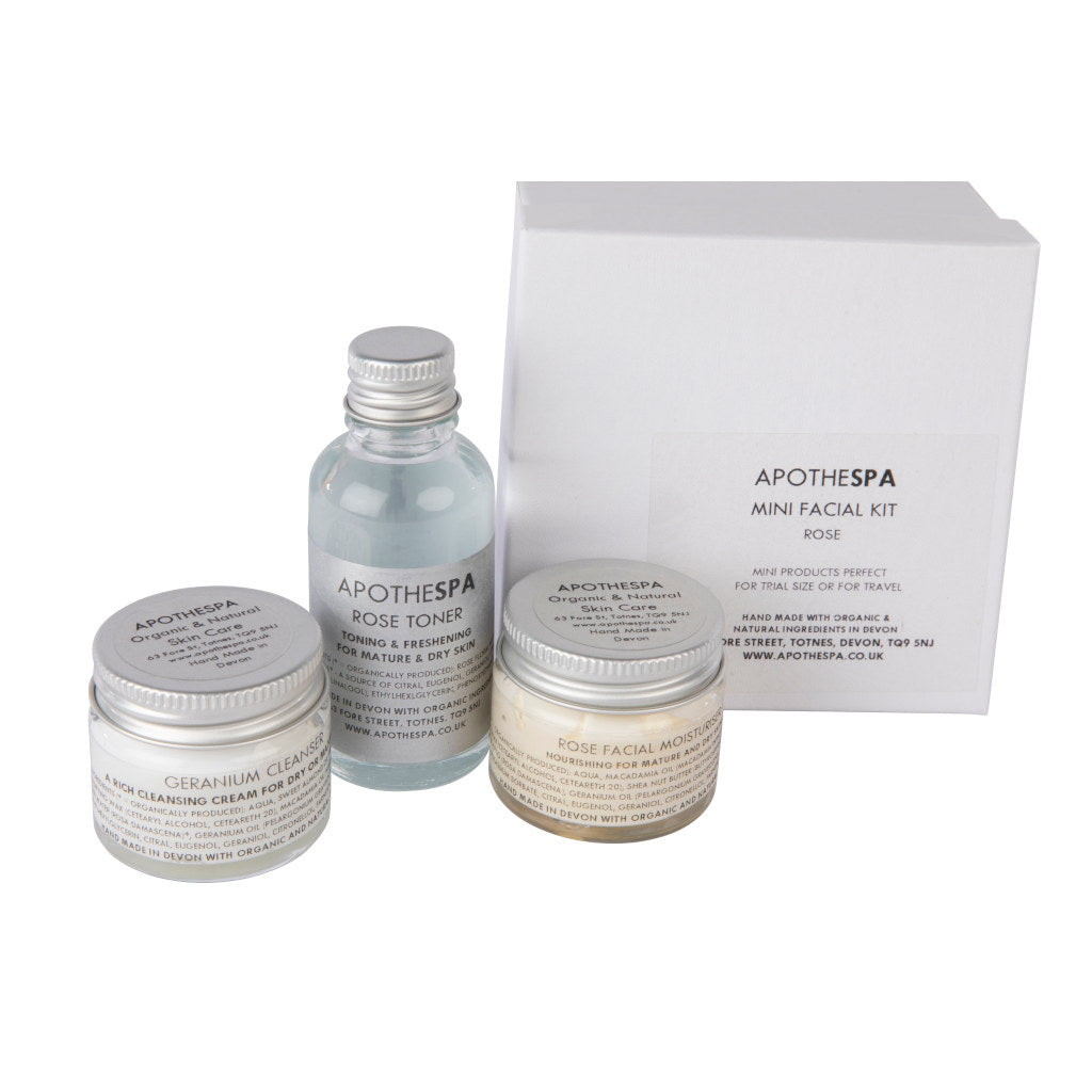 Rose Mini Facial Kit