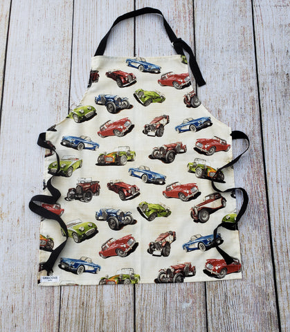 Little Helper Apron - Cars