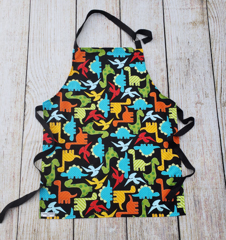 Little Helper Apron - Dinosaur