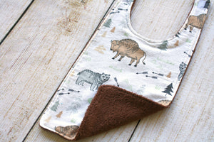 Buffalo Long Bib