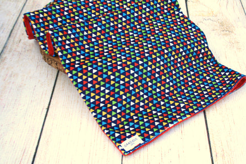 Colouful Triangle Blanket