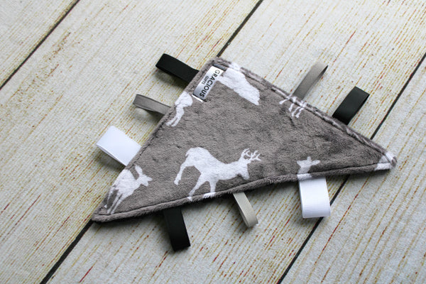 Deer Grey Triangle Crinkle
