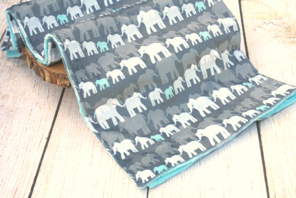 Elephant Grey Blanket