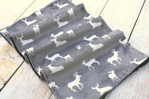 Deer Grey Blanket