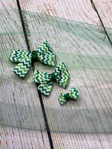 Variety of Sizes set of 3 Pinwheel  Clips