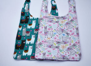 Long Bib Set - Llamas