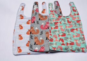 Long Bib Set - Foxes