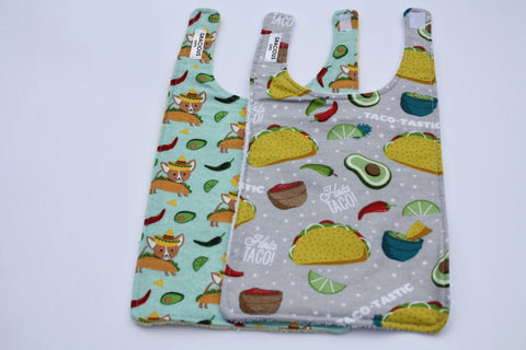 Long Bib Set - Taco Dog/Taco