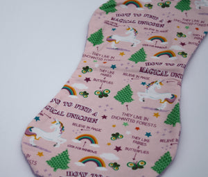 Burp Cloth - Magical Unicorn
