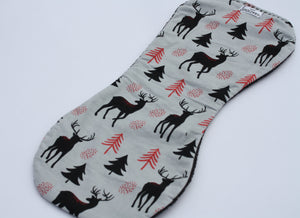Burp Cloth - Deer Grey