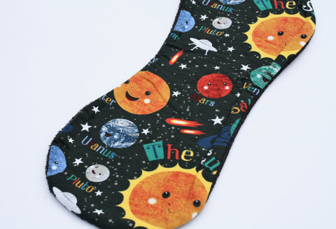Burp Cloth - Planets