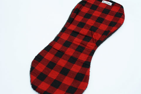 Burp Cloth - Red Buffalo Plaid