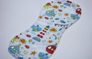 Burp Cloth - Underwater