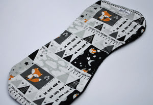 Burp Cloth - Fox Stars