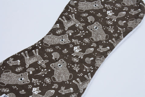 Burp Cloth - Brown Bear