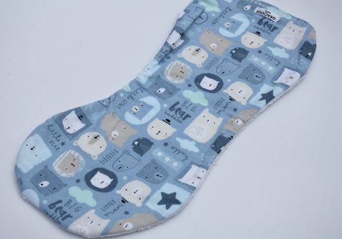 Burp Cloth - Blue Bear