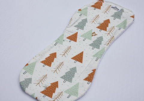 Burp Cloth - Trees