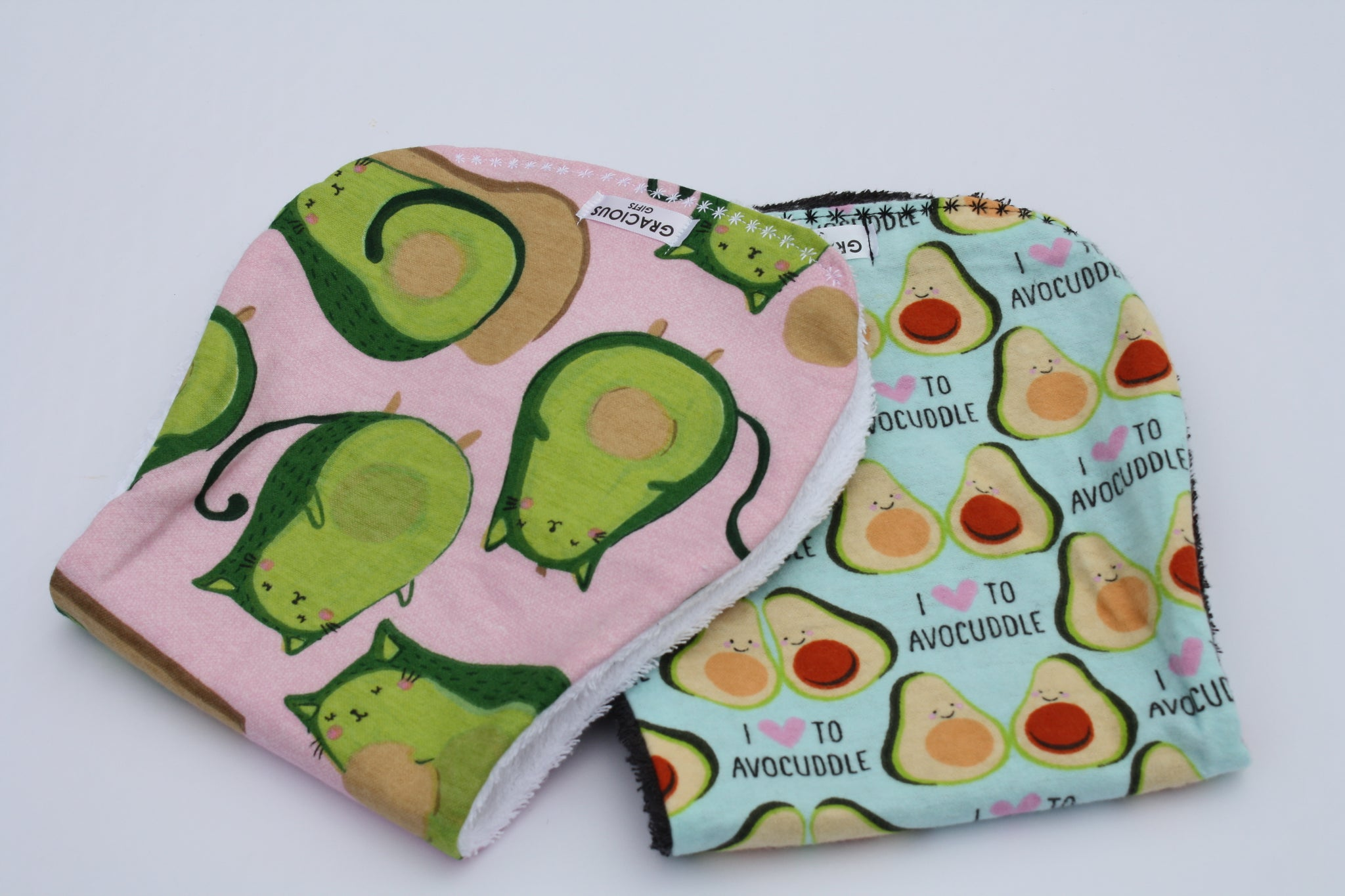 Burp Cloth Set - Avocato/Avocuddle