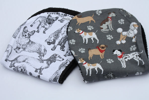 Burp Cloth Set - Dog Theme