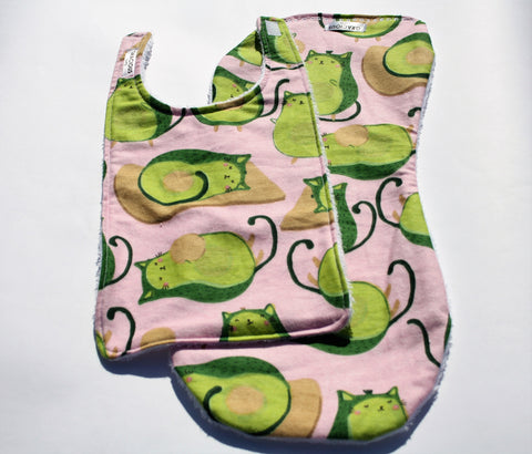 Bib and Burp Cloth - Avocato