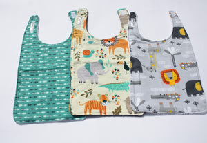 Long Bib Set - Safari Theme