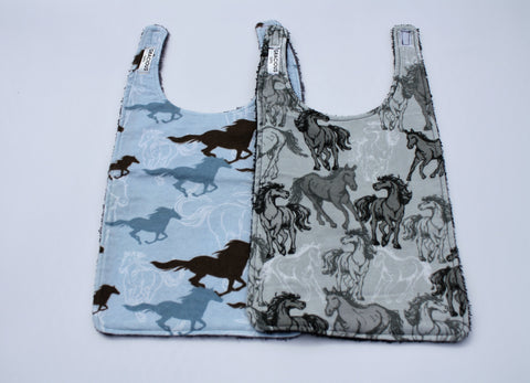Long Bib Set - Horse Theme