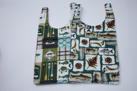 Long Bib Set - Fishing Theme