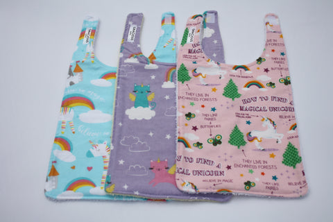 Long Bib Set - Unicorns/Unicat