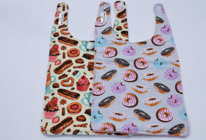Long Bib Set - Cupcake/Donut