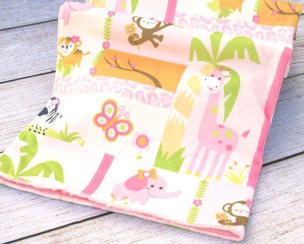 Jungle Pink Blanket